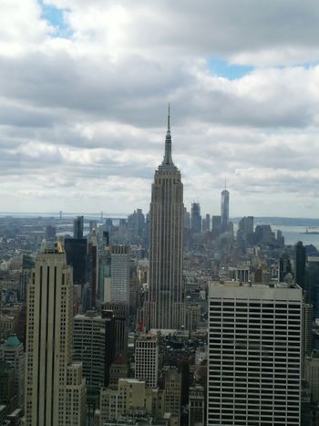 Empire State Building Ilovenyc NYC Photography Cityscape Building Exterior Cloud - Sky Urban Skyline