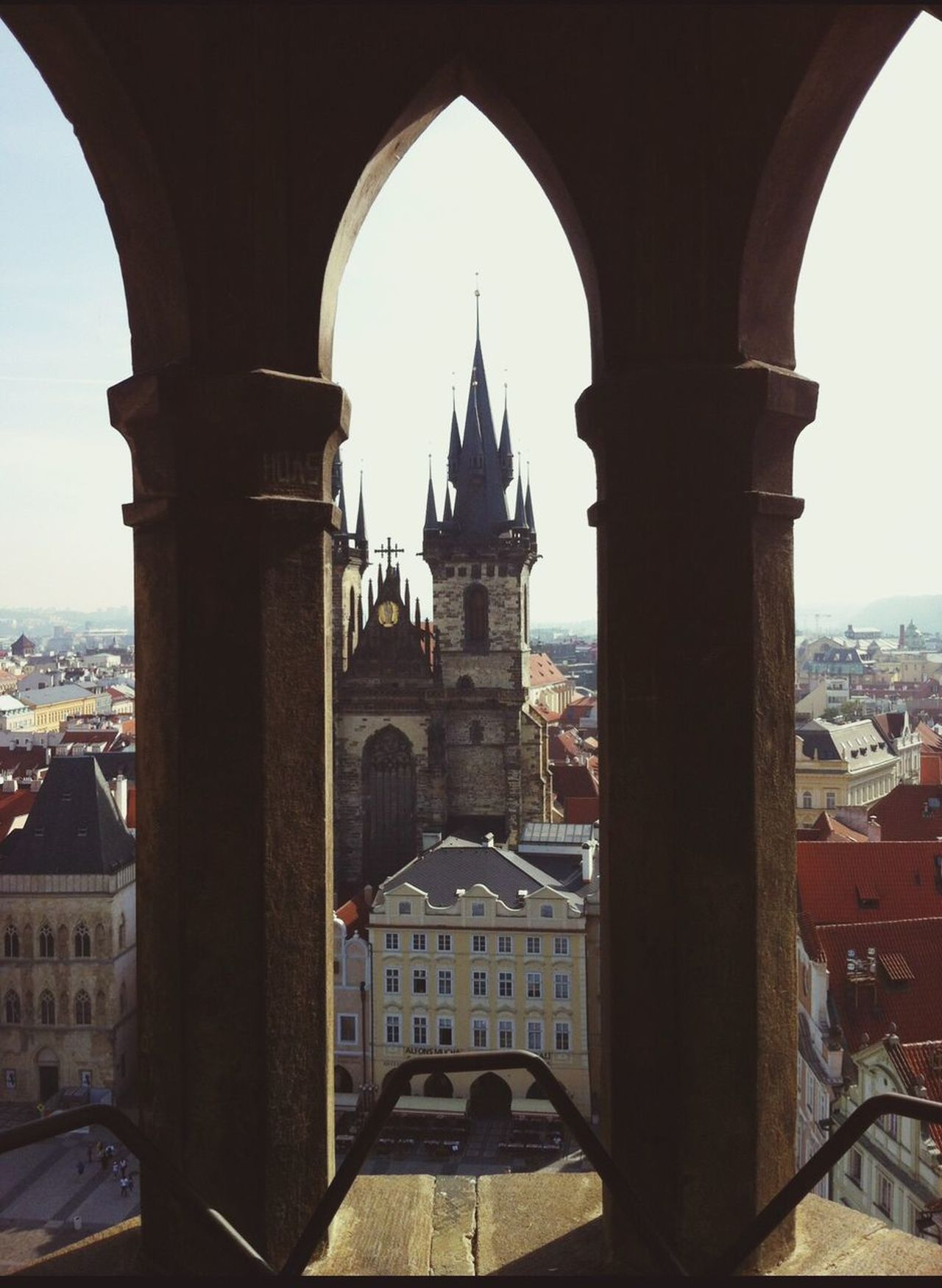 Praha Praga Architecture Arch City Religion Sky Building Exterior Vincenzo Improta WeddingPlanner Napoli Italy Outdoors Marigliano Photography Curch Architecture Clear Sky Photooftheday Built Structure Prague Prague Photography Campanile