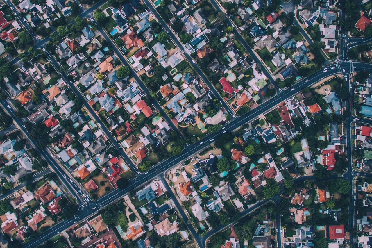 Little Boxes. Aerial View City High Angle View Cityscape Architecture Day Beautiful Capetown South Africa Dronephotography Drone  Africa