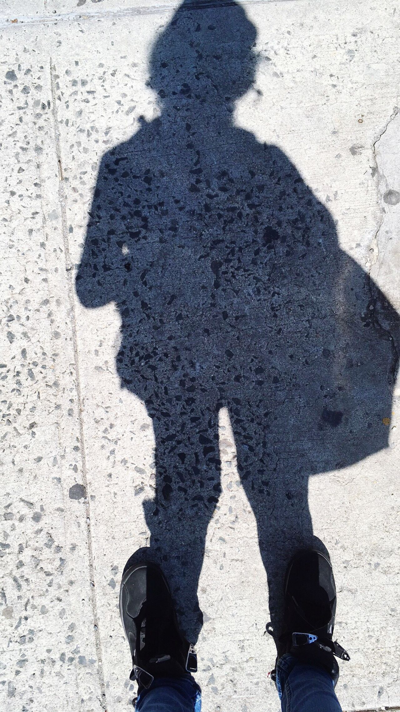 Me and my shadow. Shadow Lifestyles NYC Street Photography Bronx New York  NYC LIFE ♥