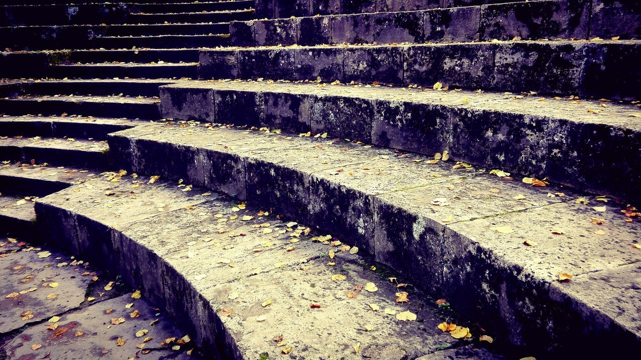 Steps Staircase Stone Material Outdoors Stone Autumn 2016 September 2016 The Places I've Been Today Autumn🍁🍁🍁 Mühlhausen Autumn Is Here