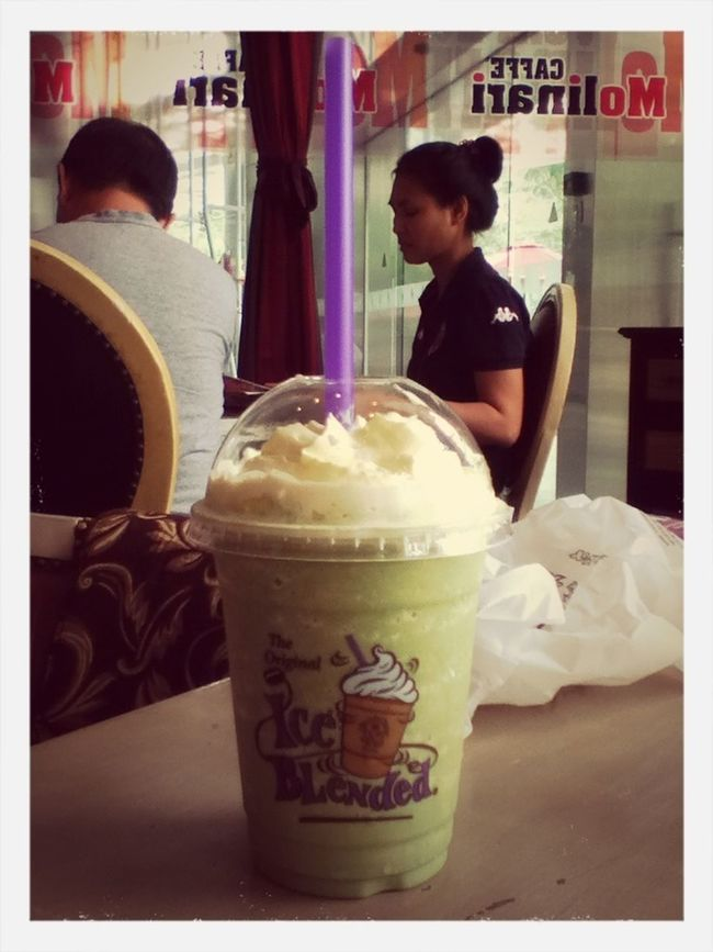 Macha Green Tea Ice Blended