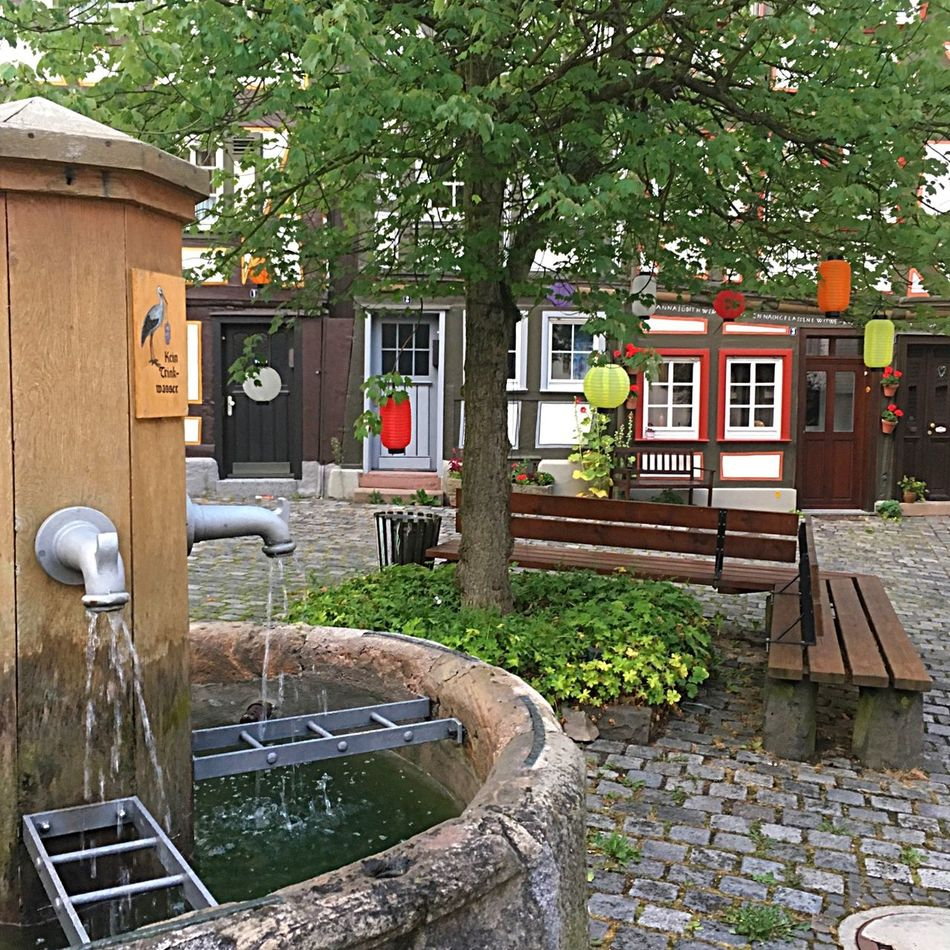 Front Or Back Yard Lanterns Old Well A Place To Relax Old Town Square