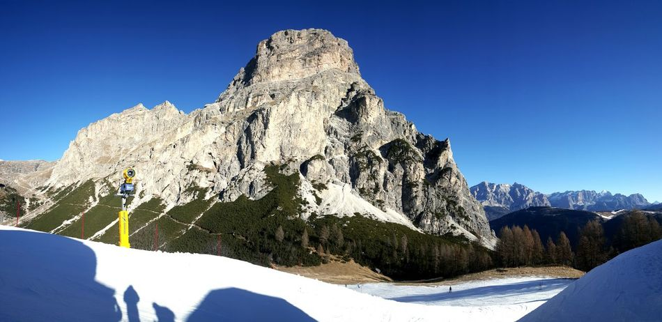 Taking Photos Check This Out Relaxing Enjoying Life Ciao Piste Snow Rocky Mountains Dolomiti Holiday Vacation Sunshine Nature Mountains Traveling Alps Wintersport Photography Nature Photography Beautiful Nature Blue Sky Sunny Day Italy Snowboarding Snow Sprayer