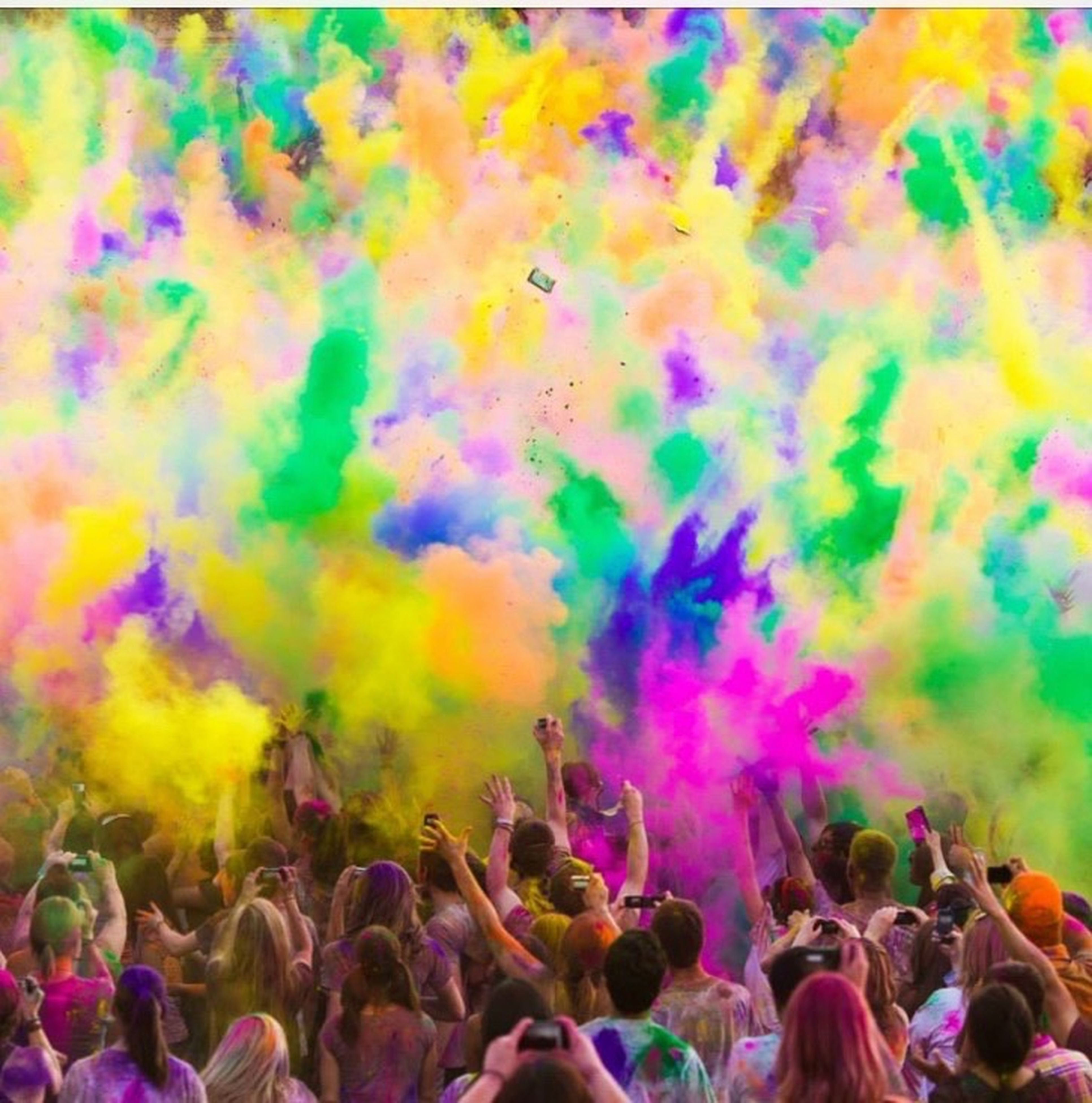 multi colored, arts culture and entertainment, large group of people, celebration, enjoyment, indoors, colorful, crowd, culture, lifestyles, person, backgrounds, skill, event, full frame, spraying, extreme sports, festival, performance, fun, hobbies, youth culture, celebration event