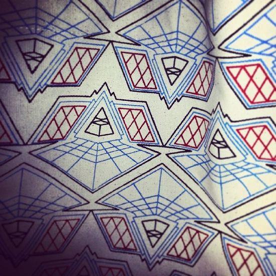 Handprint Textilebag Geometricalprint NewBag christmasgift uniquegifts templebar dublin