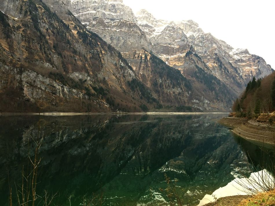 Swiss ✌ Reflection Lake Water Mountain Nature Landscape Tree Reflection Lake Outdoors Scenics Sky Day No People First Eyeem Photo