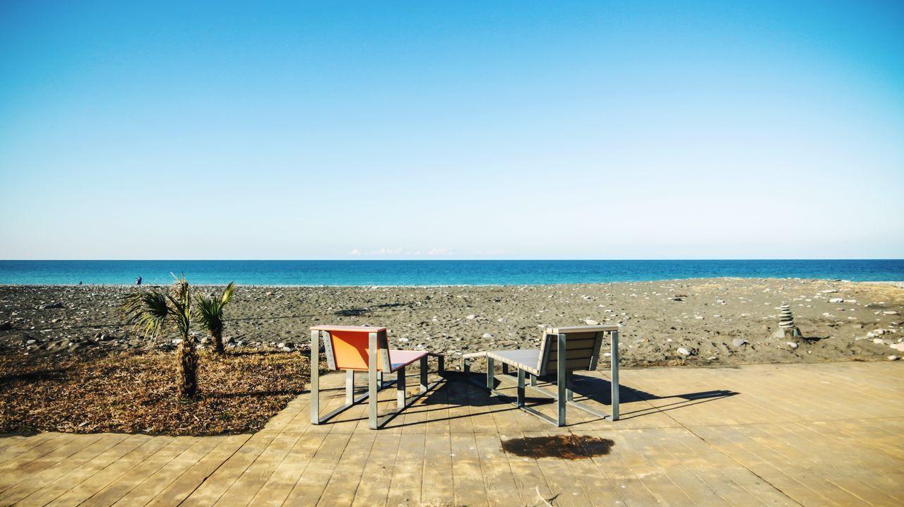 Batumi Batumi Beach Georgia Beach Sea Water View Lanscape Travel Holiday