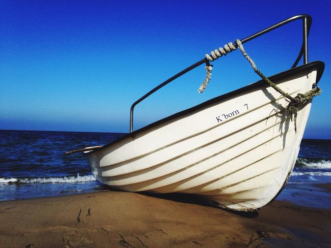 Sea Beach Horizon Over Water Blue Sand Water Sky Scenics Shore Tranquil Scene No People Outdoors Day Nature Nautical Vessel Ship Boat Baltic Baltic Sea Balticsea Baltic Coast