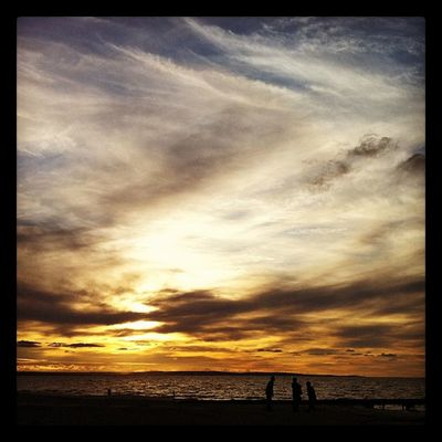 Sunset @ Busselton Sunset Perth IPhoneography Iphone4 IPhone Iphoneonly