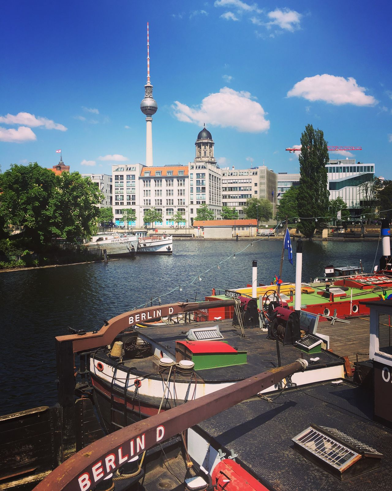 Berliner Ansichten Wonderful Berlin Lovely Weather Lovely Day Walking Around Harbour Cityscapes