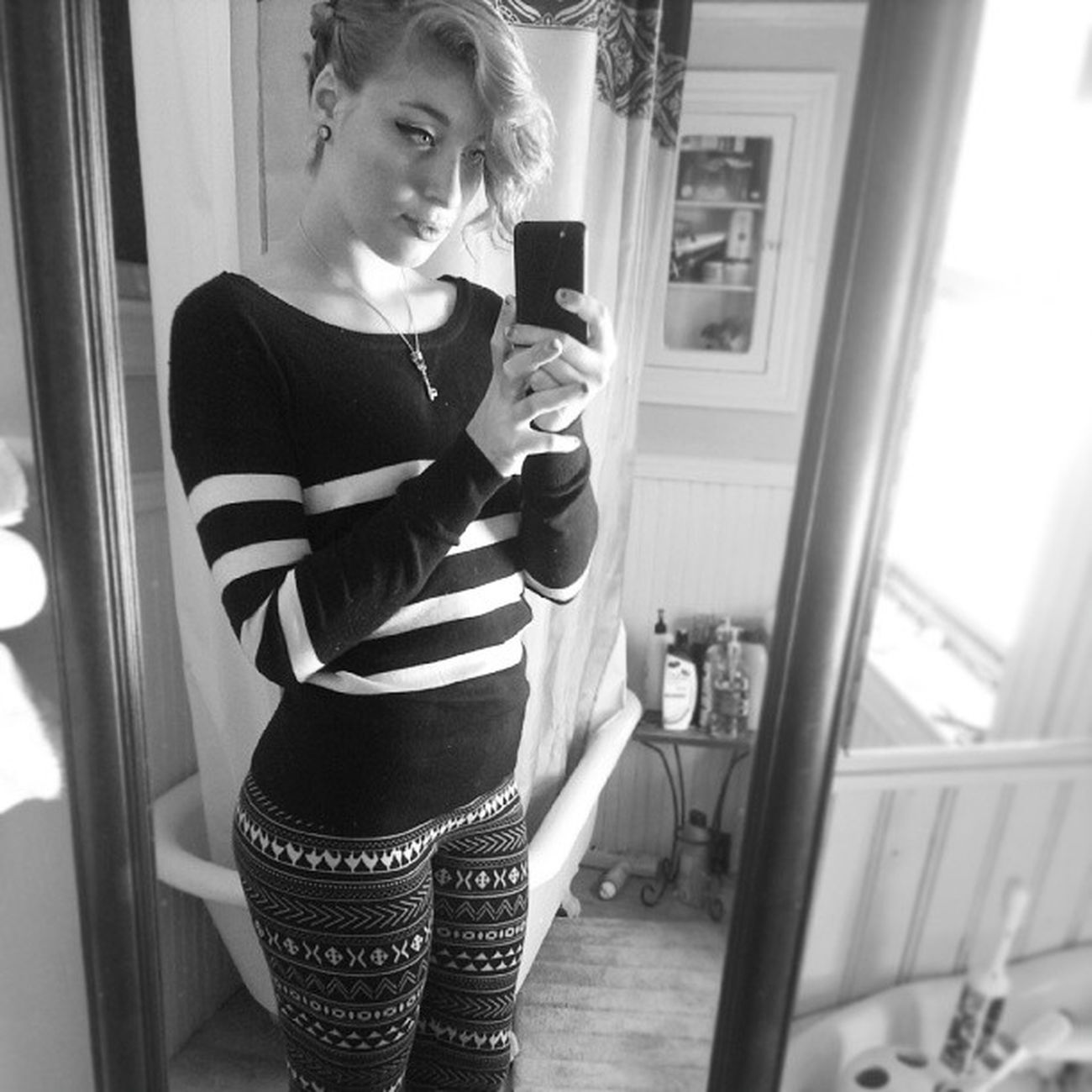 I can't promise that things won't be broken, but I swear that I will never leave. Sleepingwithsirens Sws Unf Thefeels blackandwhite bw ootd leggings patterns stripes sweater sweaterweather finally girlswithplugs plugs plugsnotdrugs classy selfie curves tistheseasontocuddle cuddleweather happy unf porcelain vixen fox lol kbye