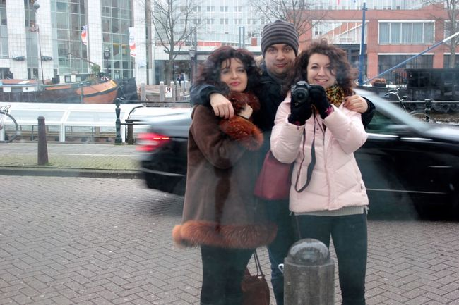 Great selfie in Amsterdam! Selfie The New Self-Portrait Family Amsterdam Happy Fun Good Times Everyday Joy Me, My Camera And I RePicture Travel My Best Photo 2015