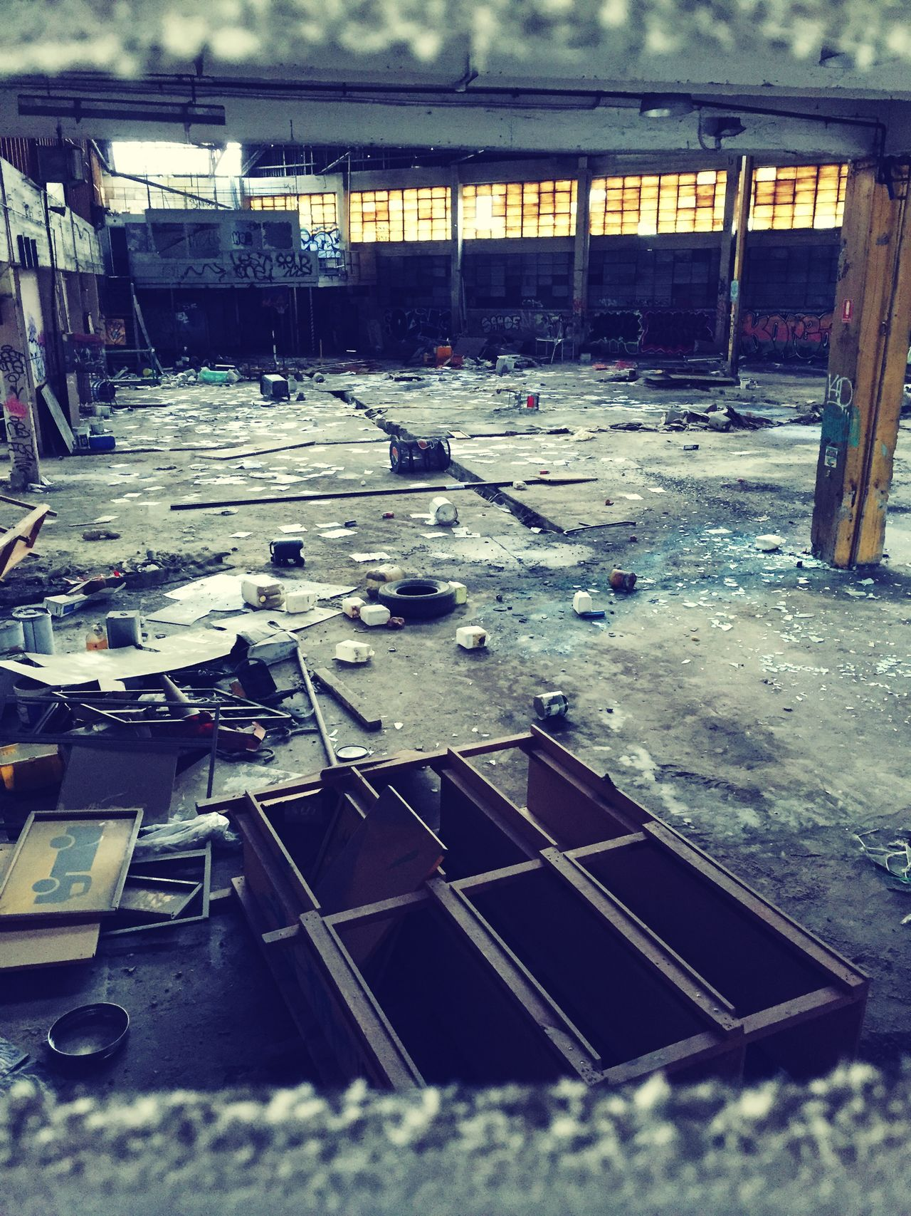 Industry Factory Warehouse Indoors  Abandoned No People Metal Industry Day