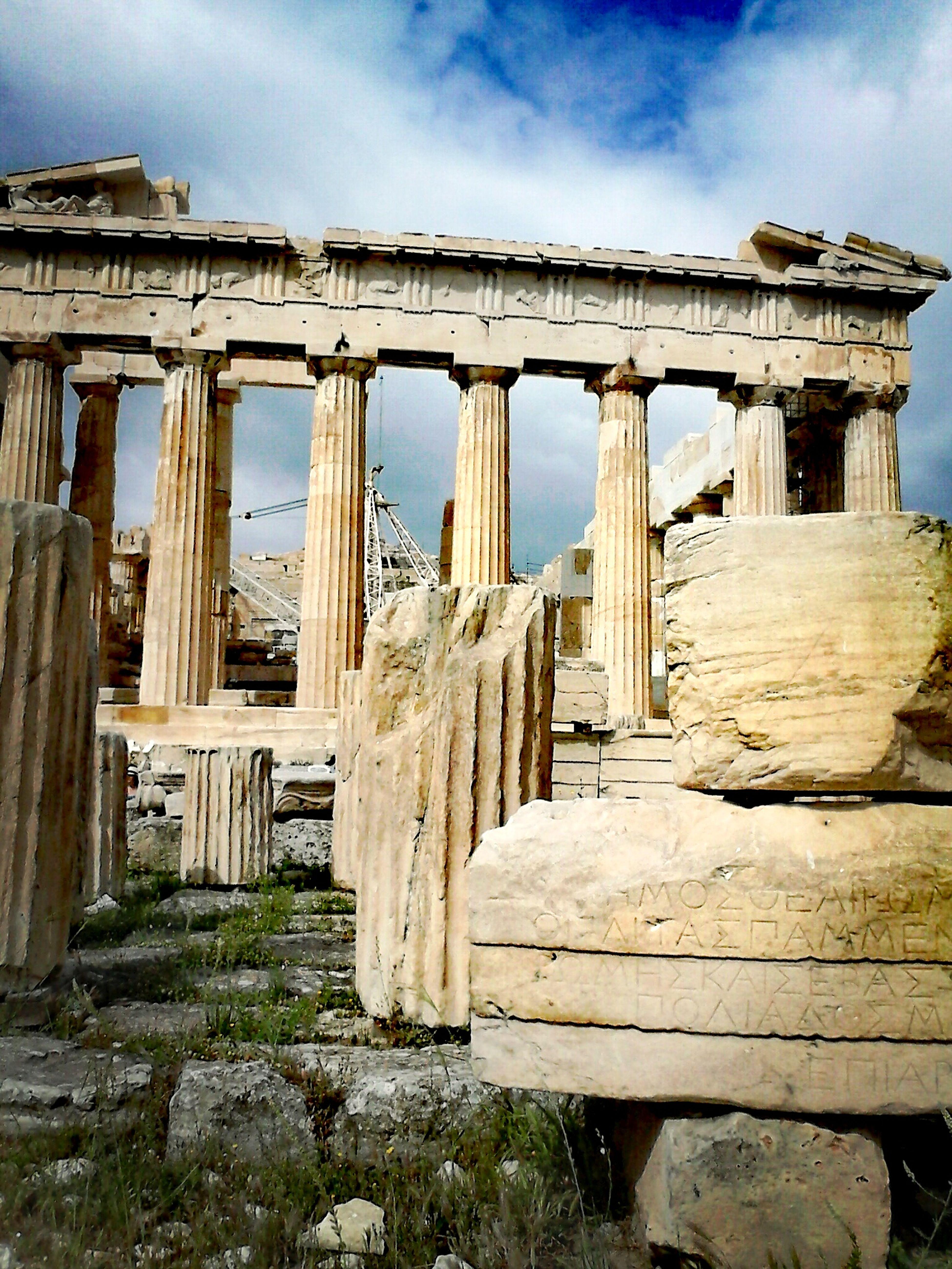 Tourism Vacations Famous Place Parthenon Temple Athenas Temple Grecce Parthenon Greece 7 Maravilla