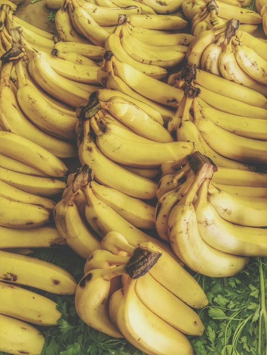 Food Food And Drink Banana Healthy Eating Freshness Fruit Full Frame No People Backgrounds Close-up Indoors  Day