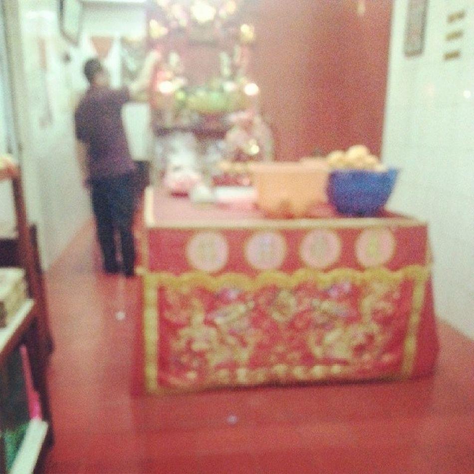 Chinese new year's eve : ) Cape  Masihbanyaktamu Gerah Cny chinese nye red celebration like potd