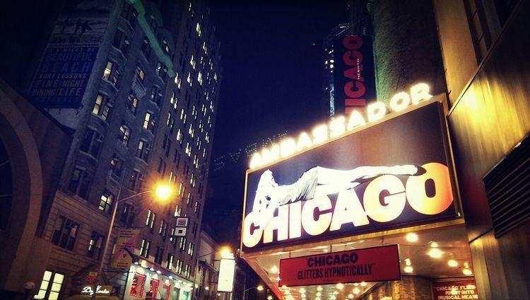 Broadway 'Chicago', New York Enjoying Life New York Broadway Taking Photos