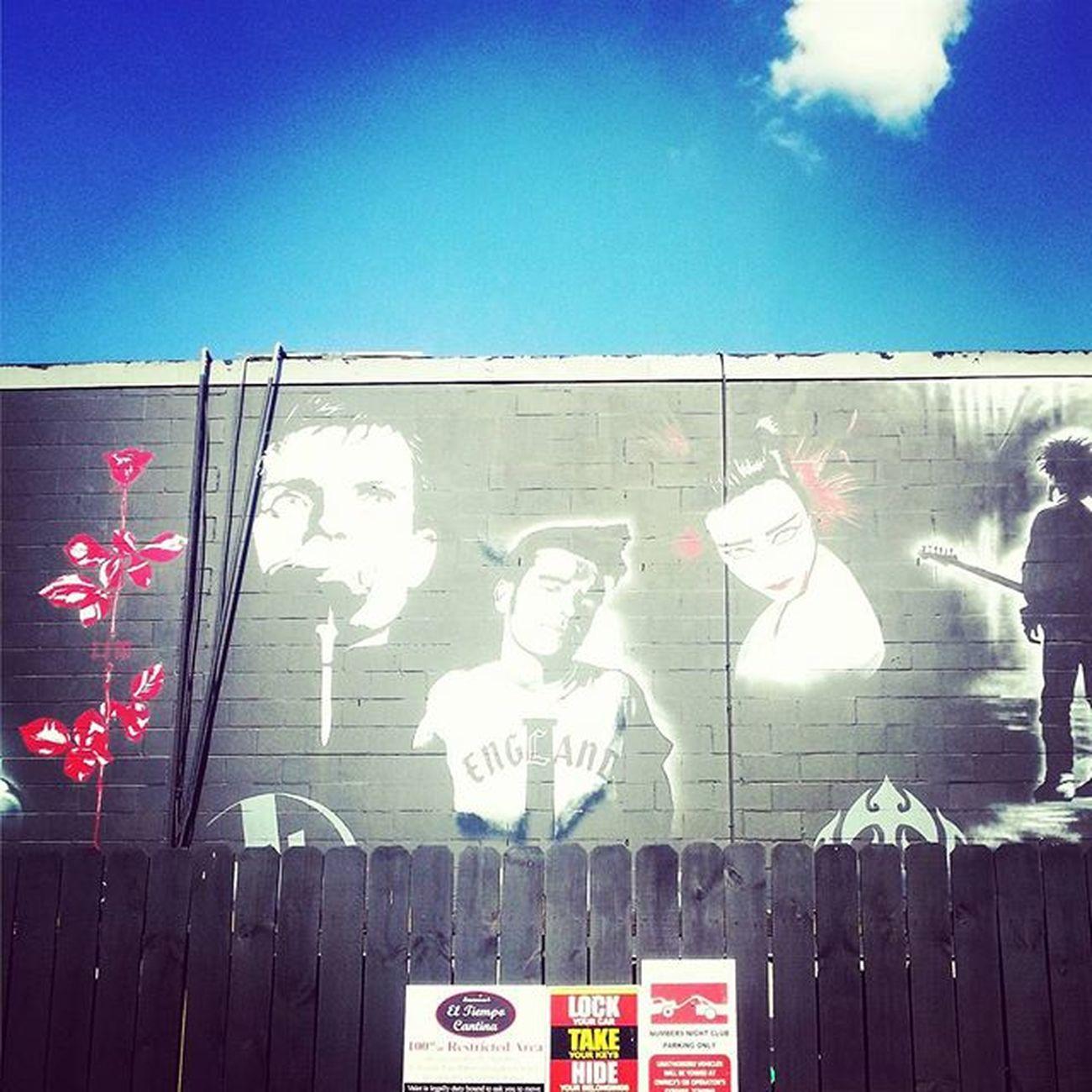 Depechemode Morrissey Sousiesiouxs Thecure Joydivision Houston Texas Montrose Gayborhood SundayFunday Streetart Urbanjungle