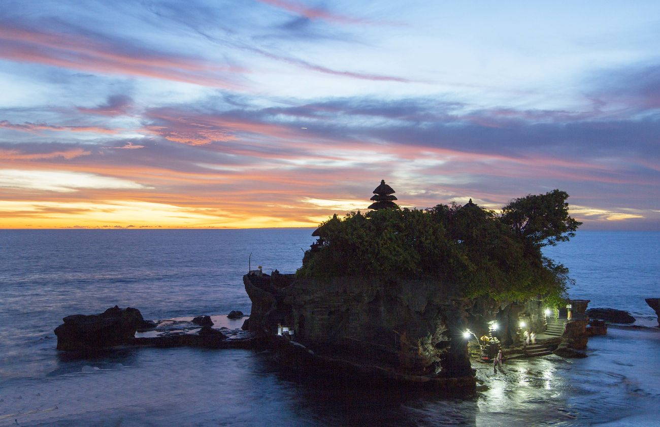 Bali Beach Cloud - Sky Day Nature No People Outdoors Sea Sunset Tanah Lot Tanah Lot Temple Travel Destinations