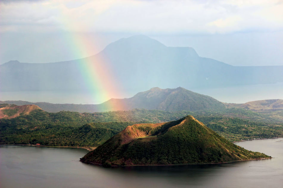 Beautiful stock photos of rainbow, Beauty In Nature, Day, Green Color, Idyllic