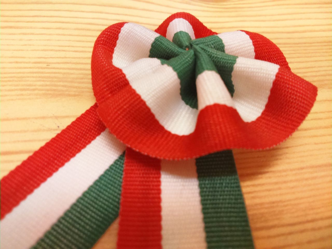 ribbon - sewing item, red, indoors, christmas, no people, wool, close-up, day