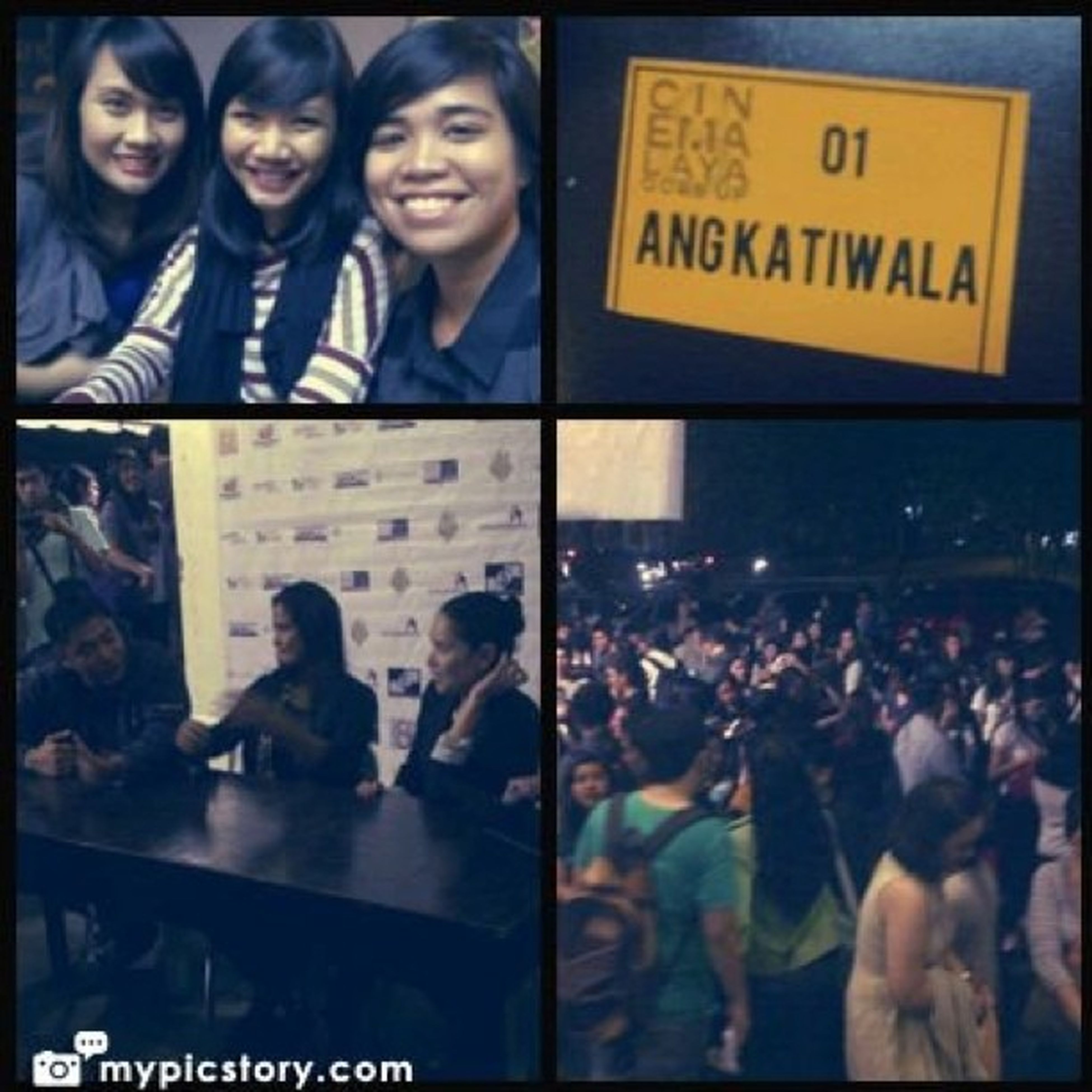 The Cinemalaya experience. Watched Ang Katiwala. Good film! Kudos to the prod team  Cinemalaya AngKatiwala Instagram