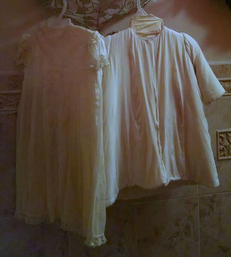 Vintage Vintage Style Vintage Clothing Fashion Fashion Photography Lace - Textile Lace Dress Off White Color Cream Colored Clothes Clothing Dresses Child Dresses Textile
