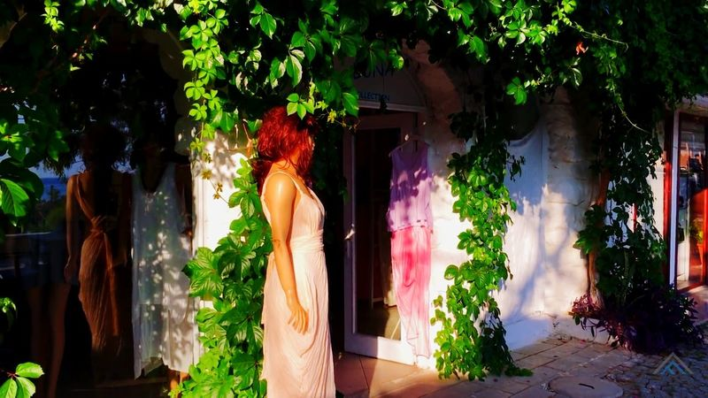 Front Or Back Yard Tree Multi Colored Plant Outdoors Day No People Nature Sky Miror Reflect Showcase Mannequin Reflection Green Color Travel Destinations Beauty In Nature nerede Kalkan Antalya Turkey