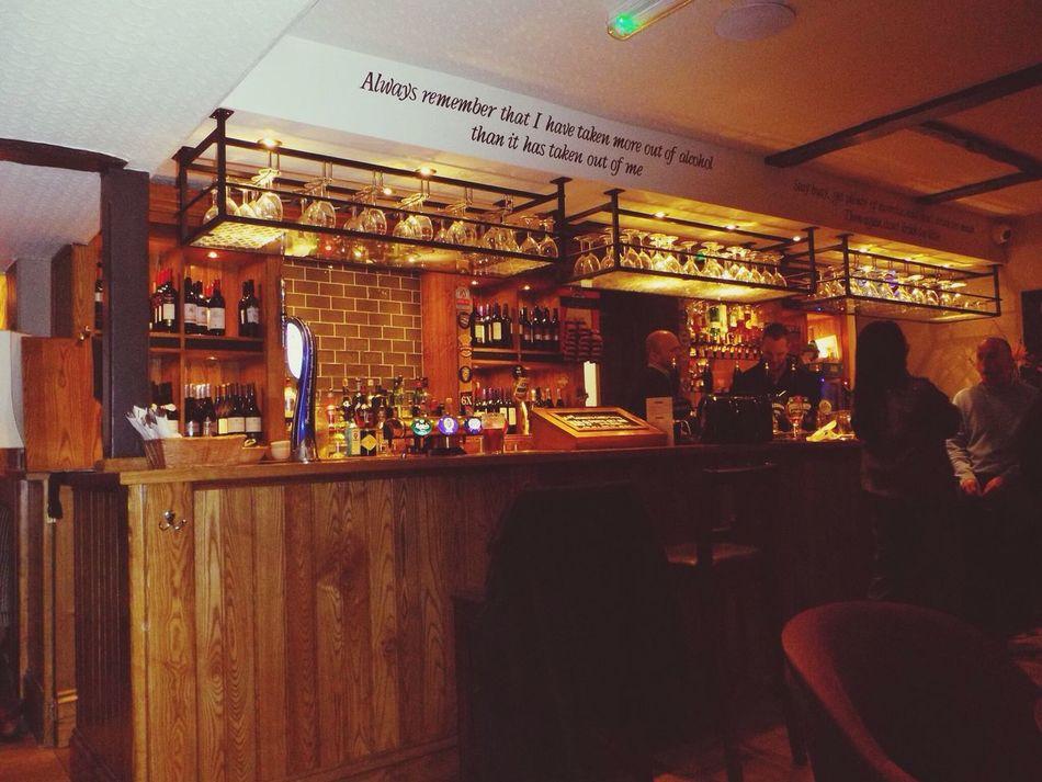 Irish Pub :) coffee England Au Pair