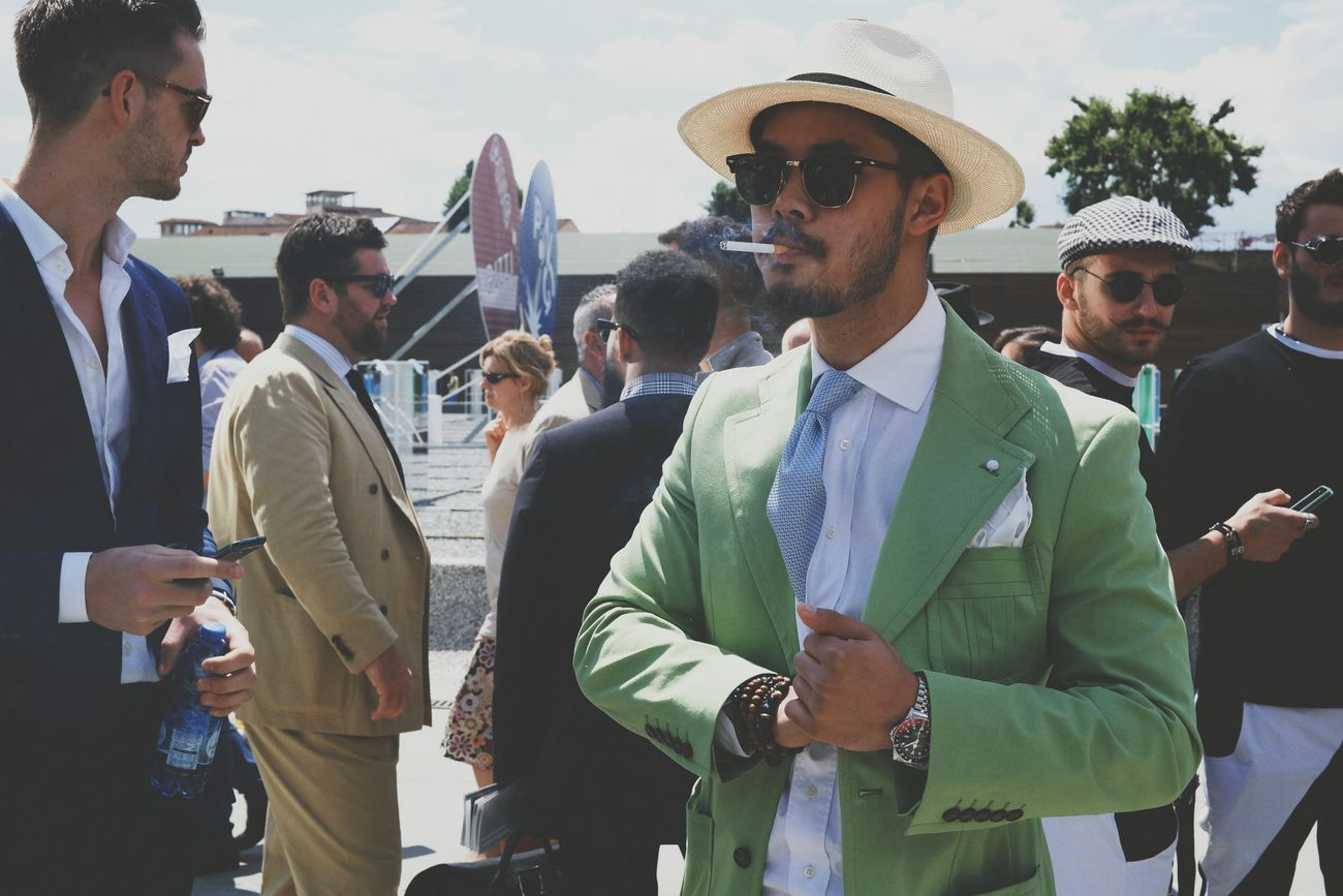 Mr. Green GoodFellas IMP At Pitti Uomo 86 Samsung Smart Camera Vscocam Streetphotography Gangsters Paradise