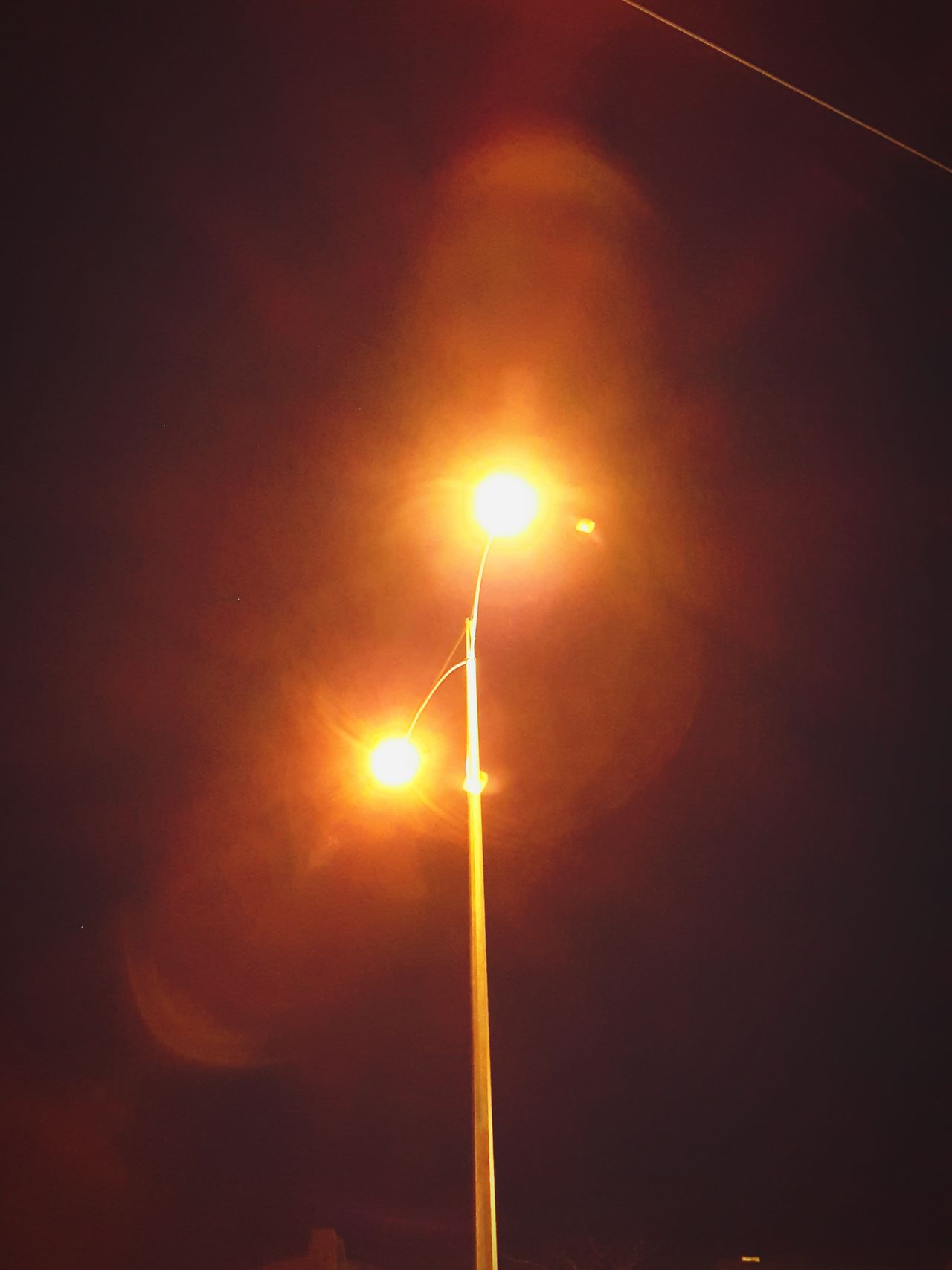 Street Light Illuminated Lighting Equipment Electricity  Night Low Angle View Electric Light Pole Lamp Post High Section Glowing Outdoors Sky Light Beam Spotlight Vibrant Color Tall No People Scenics Lens Flare