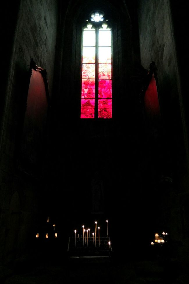 Cathédrale De Rodez Cathedral Rodez Aveyron Vitrail Vitraux Stained Glass Window Art Religious Art Religious Architecture