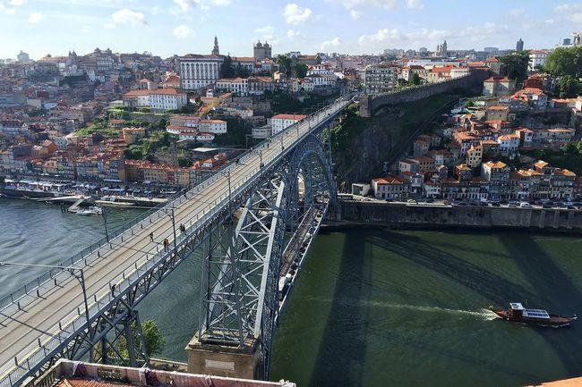 Another Eiffel's bridge Eiffel Bridge Bridge - Man Made Structure Architecture Built Structure Connection City Building Exterior River Transportation Douro  Porto Portugal