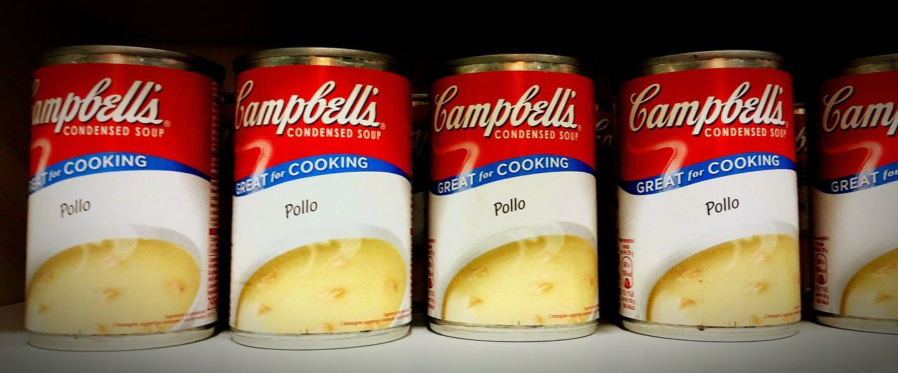 Campbell Soup Campbell Soup Sr & Jr Soup The EyeEm Facebook Cover Challenge