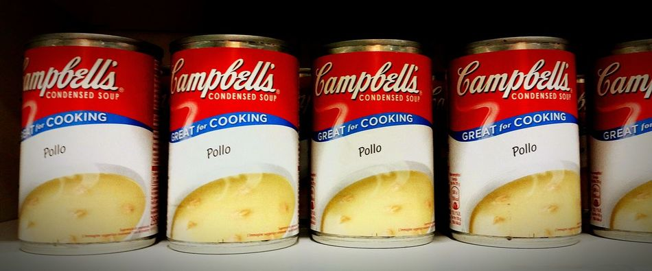 Campbell Soup Campbell Soup Sr & Jr Soup The EyeEm Facebook Cover Challenge