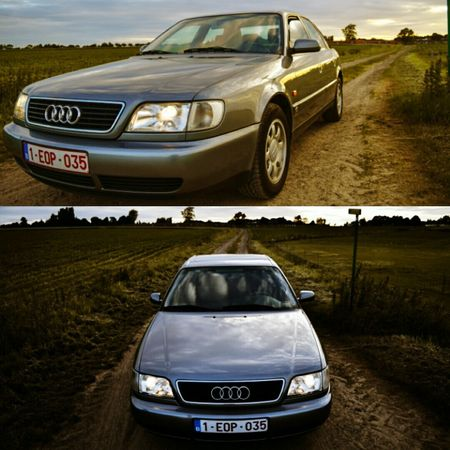 Audi Car Transportation Mode Of Transport Driving Land Vehicle Day Nature Outdoors People Adult One Person Only Men Cruising Around Youngtimer AudiA6 Ridestuff Live For The Story