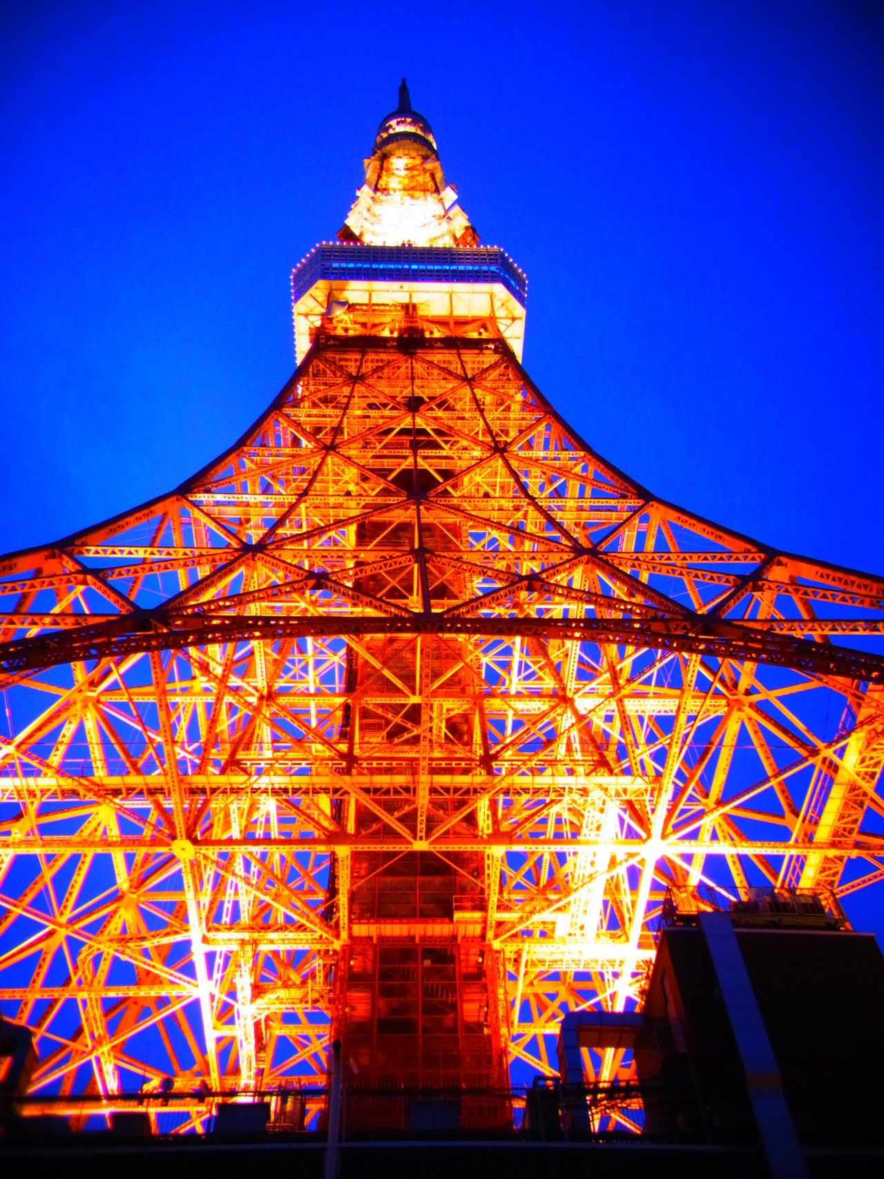 Battle Of The Cities Tokyo Tokyo Tower Tokyo Night Tokyo Days Architecture Built Structure Low Angle View Building Exterior Tower Travel Destinations Famous Place Illuminated Tall - High International Landmark