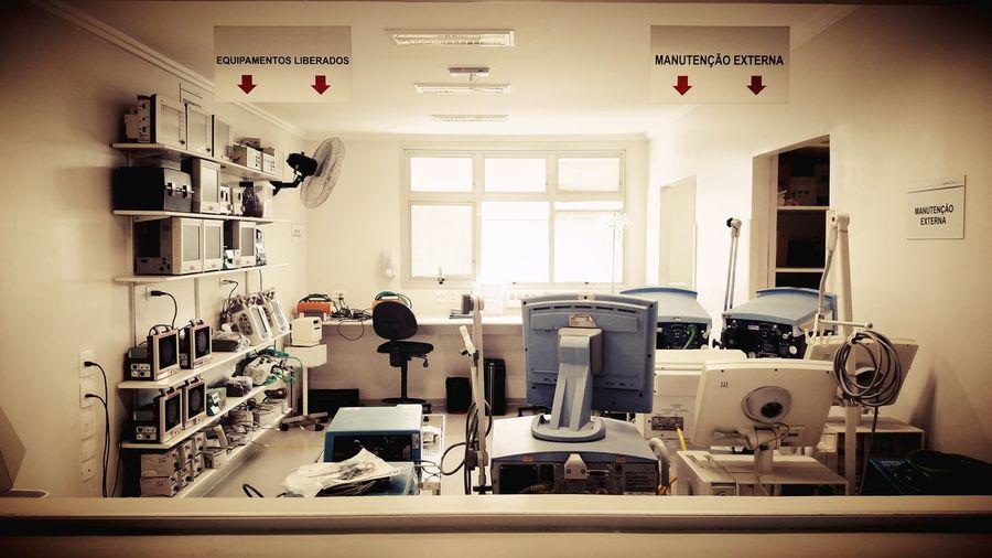 Taking Photos Machines Hospital São Paulo - Brasil