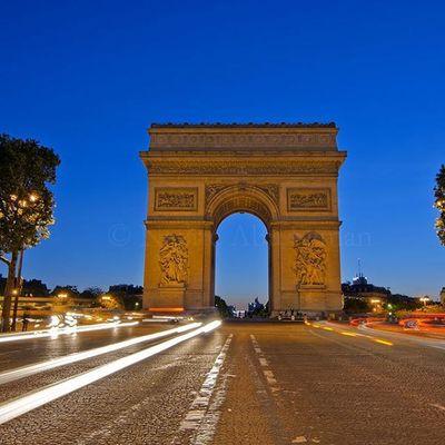 The path | Paris Travel Paris Arcdetriomphe
