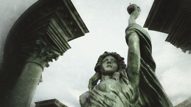 Las Vegas Caesarspalace Statue Traveling Ancient Civilization Architecture Black & White