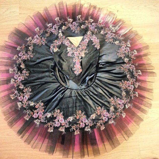 Black and Pink Ballet Tutu Classicalballettutu Classicaltutu Ballerina dancecostume dance dancer dancecostume