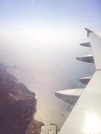 Travel Photography Up In The Air From Where I Sit