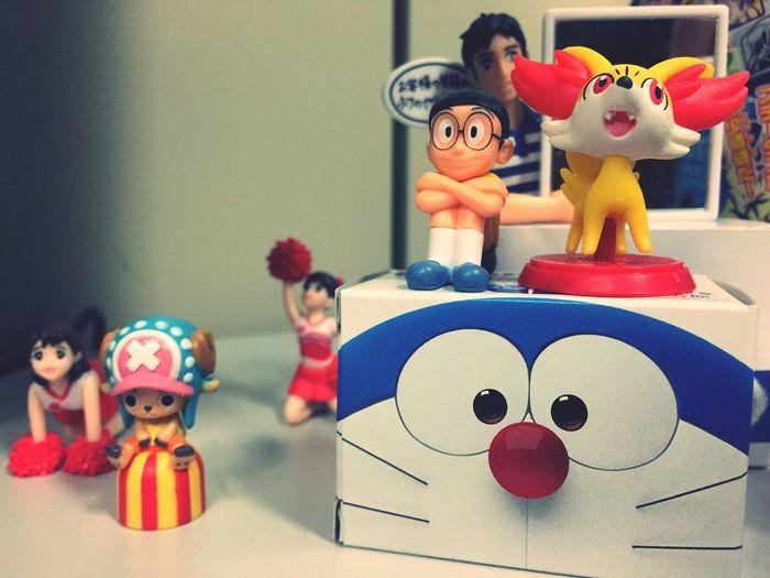 figures?? Doraemon Nobita Chopper Pokémon Chiraleader