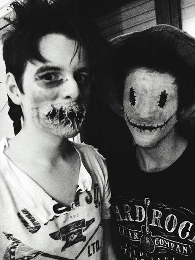 Halloween Scary Monster Monsterland Halloween Horrors Mask Makeup