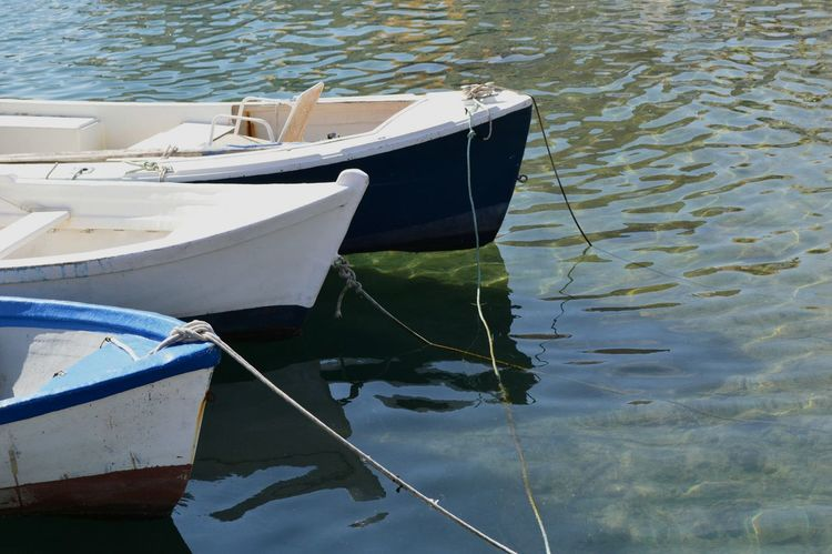 Boat Barcas Agua Water_collection Water Reflections Water Port Vaixell EyeEm Gallery Relaxing Beach Sea Enjoying Life Reflection_collection Reflections In The Water Relax Time  Nature Photography Atmella De Mar Catalunya Nature_collection