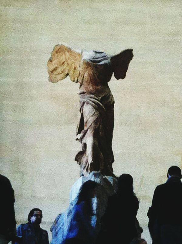 Nike di Samotracia Louvre