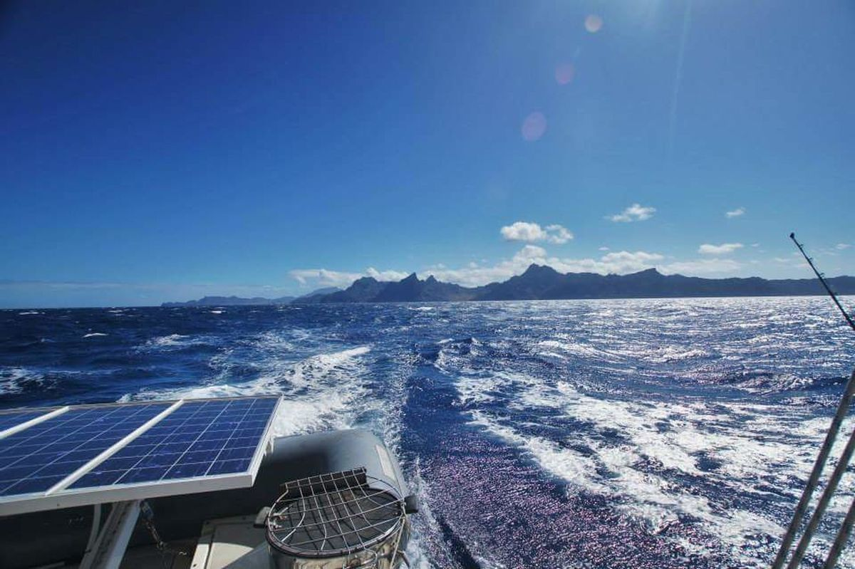 Sea Water Solar Panel Solar Energy No People Fuel And Power Generation Blue Outdoors Horizon Over Water Day Sky Nautical Vessel Nature Cityscape Beauty In Nature Astronomy Sail Away, Sail Away Sailing Catamaran Cap Verde