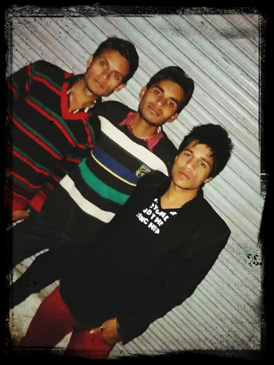 Me and my brothers Avnish and Swadesh
