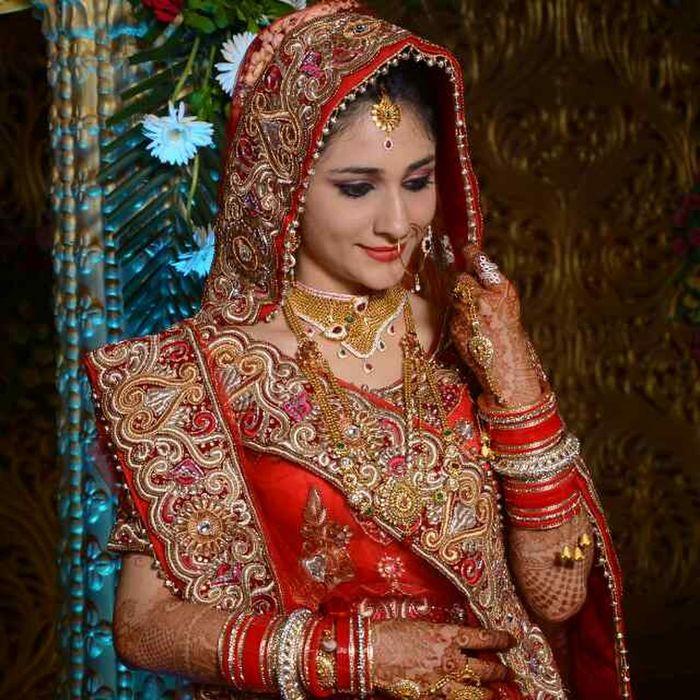 Beautiful indian bride First Eyeem Photo